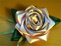 Цветы из атласных лент - выездные мастер-классы Event Handmade