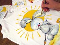 Роспись футболок и сумок - выездные мастер-классы Event Handmade