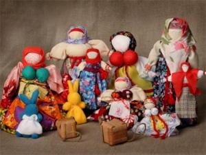 Русская народная кукла - выездные мастер-классы Event Handmade
