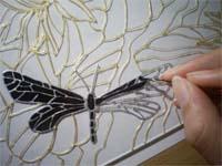 Винтажная роспись стекла - выездные мастер-классы Event Handmade